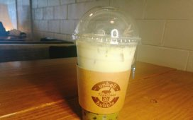 Green Tea Latte @ Unbelibubble