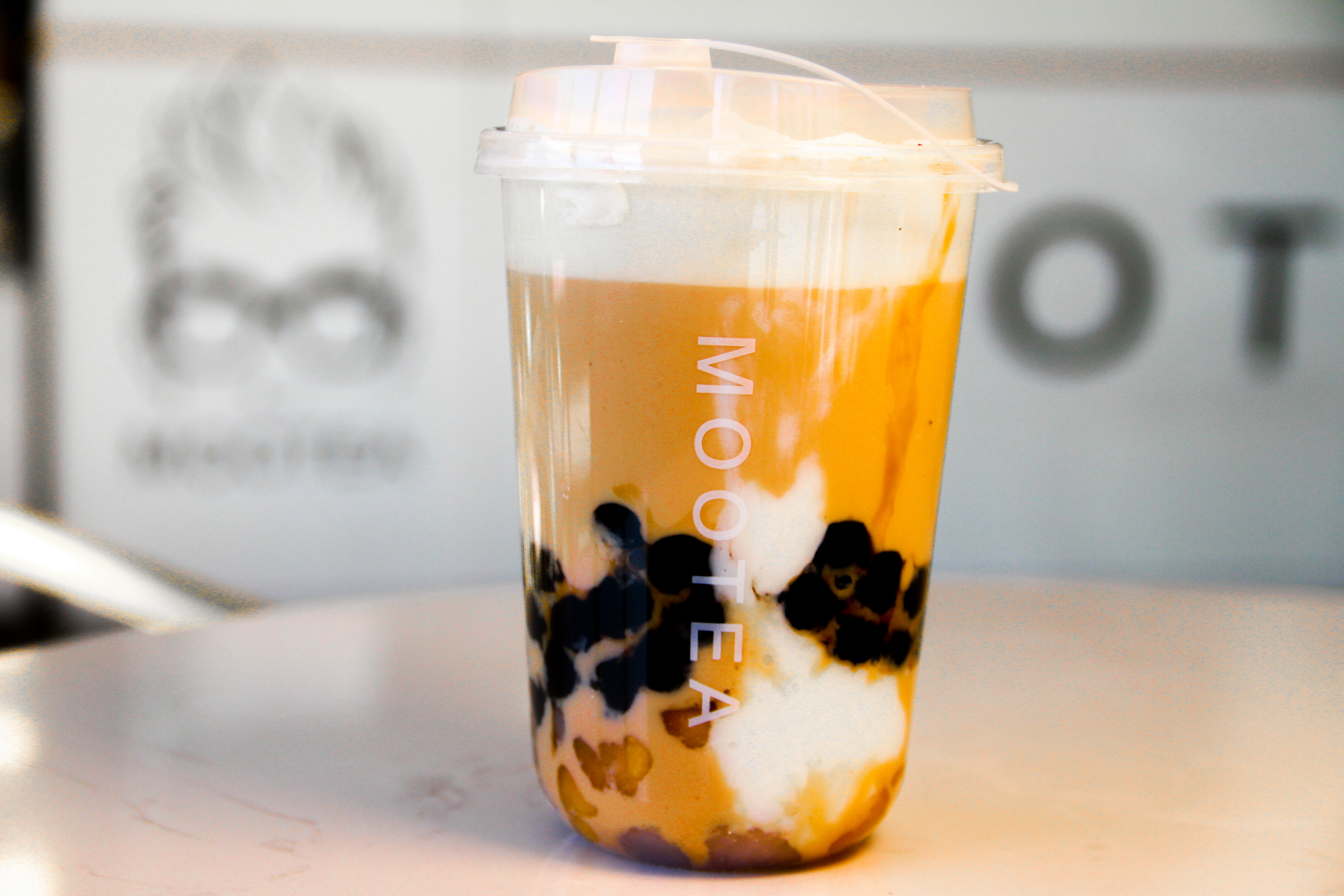 Soy Milk Tea Mochi Latte by Moo Tea