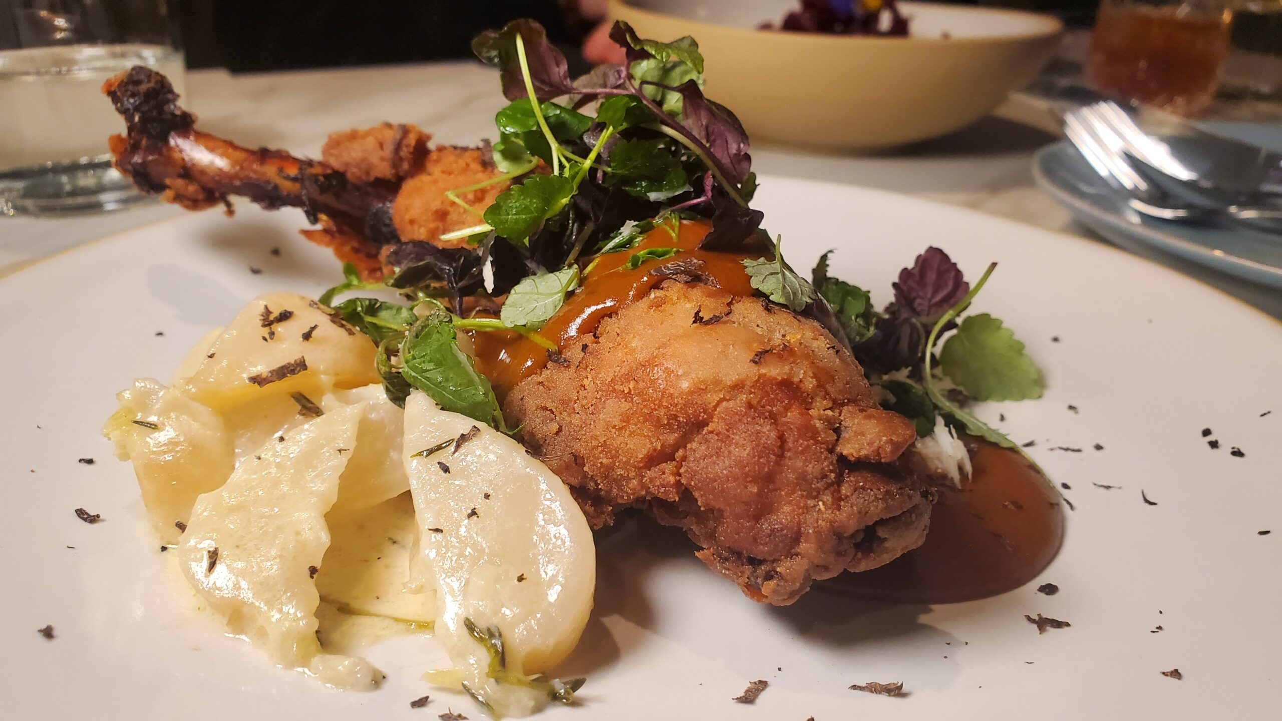Guinea Hen from Falling Rabbit in City of Duluth