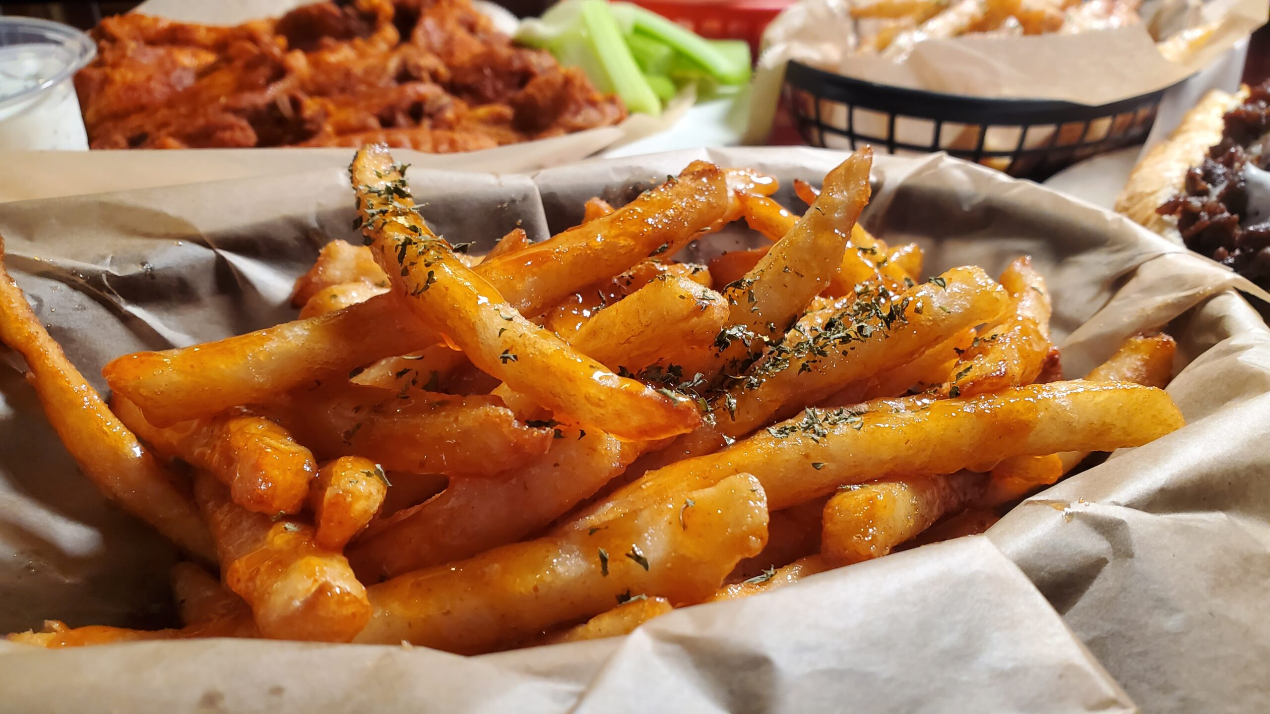 Sweet Chili French Fries